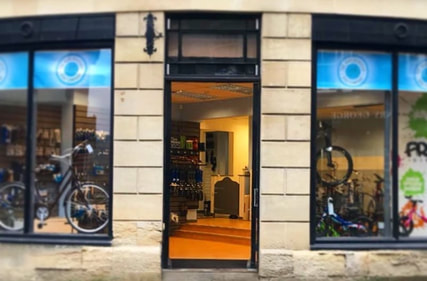 Opening the doors of our brand new bike shop